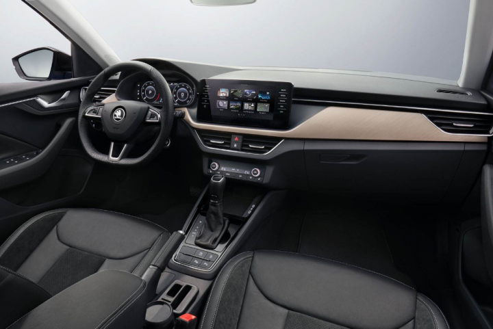 skoda scala interieur auto melse