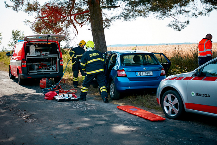 emergency call Skoda Auto Melse