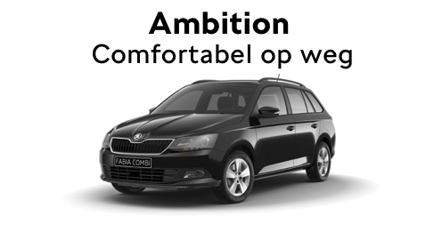 Ambition Fabia actie auto melse goes