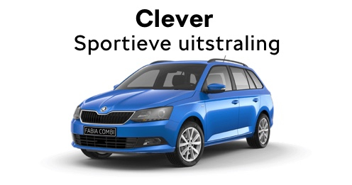 Fabia Clever private lease auto melse