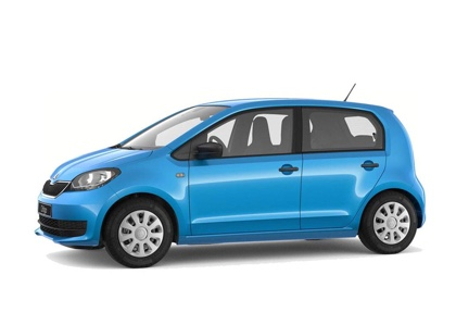 skoda Citigo private lease auto melse